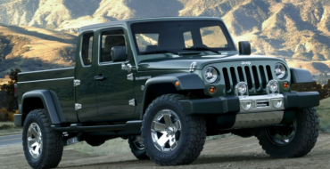"Jeep ""Scrambler"" Pickup Truck to Make Its Debut at the LA Auto Show"