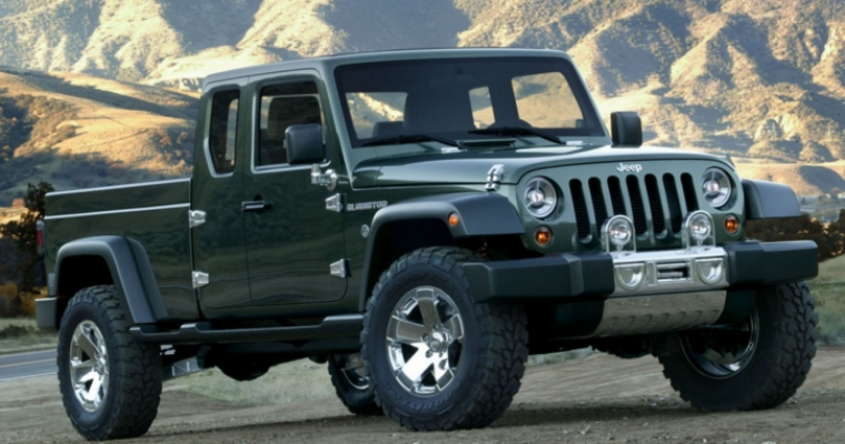 UPDATE: The Jeep Pickup Truck Will Reportedly Be Named the Gladiator