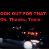 Tesla Autopilot Saves Uber Driver from Car Crash