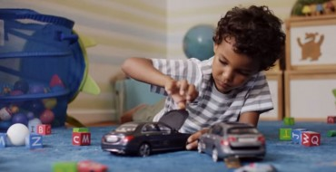 [VIDEO] Mercedes' Uncrashable Toy Cars Are Perfect Gift for Naughty Children