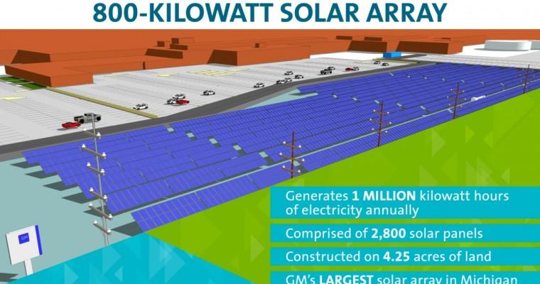GM Adding 4.25-Acre Solar Array to Warren Transmission