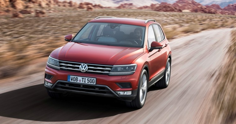 New Volkswagen Tiguan Unveiled