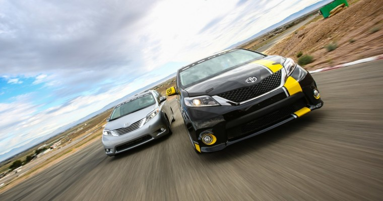 Toyota's Sienna R-Tuned Concept is the Coolest Minivan Ever