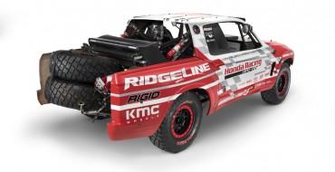 Baja Race Truck Previews Next-Gen Honda Ridgeline at SEMA [VIDEO]