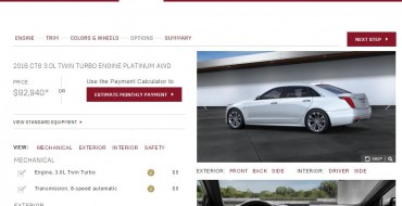 Configure Your 2016 Cadillac CT6 Now