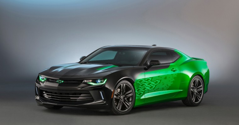2016 Chevy Camaro Krypton Concept Has Alien Glow [VIDEO]