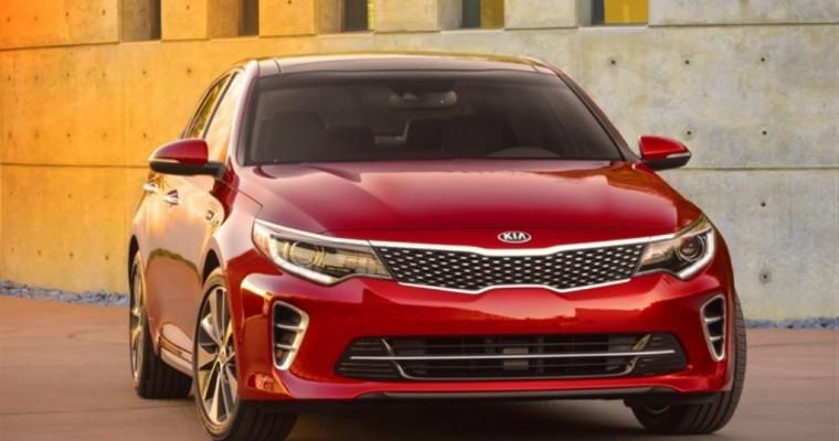 Kia Optima and Sedona Named AutoPacific's 2016 Ideal Vehicle Award Winners