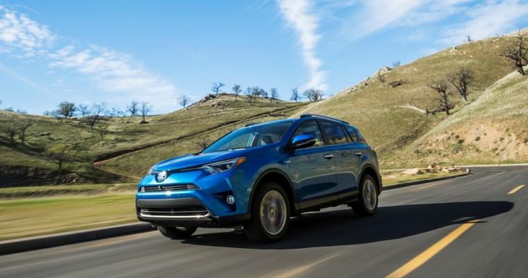 RAV4, Highlander Sales Push Toyota to Successful January