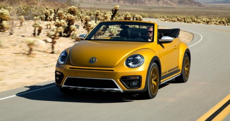 VW's Beetle Dune Comes Alive at LA Auto Show