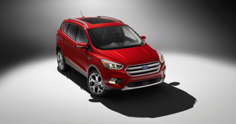 2017 Ford Escape Features Tons of New Tech, Available Sports Appearance Package