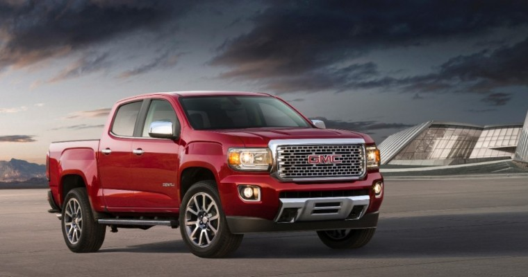 GMC Canyon and Chevy Colorado Both Due for a Reported Refresh in 2019