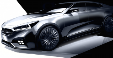 Kia Previews 2017 Cadenza with New Sketches