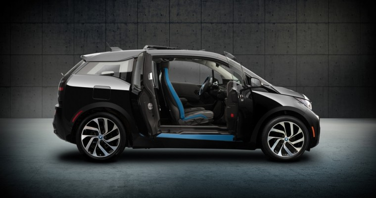 Extremely Limited BMW i3 Shadow Sport Arrives at LA Auto Show
