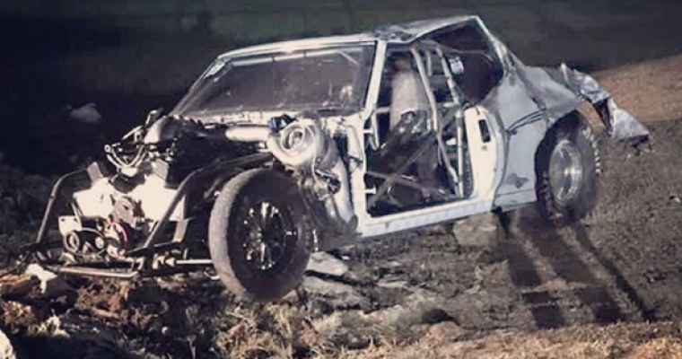 [VIDEO] Big Chief From 'Street Outlaws' Still Alive After Violent Car Crash