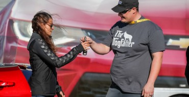 Danica Patrick Hand-Delivers the First 2016 Chevy Camaro [VIDEO]