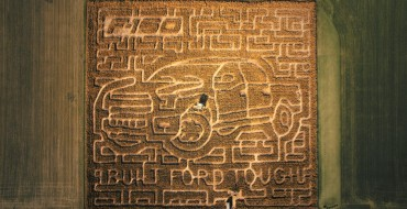 Ohio Farm Creates Amazing Seven-Acre F-150 Corn Maze