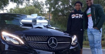 Fortunate Son: Koraun Mayweather Receives Mercedes C-Class from Champ Father Floyd