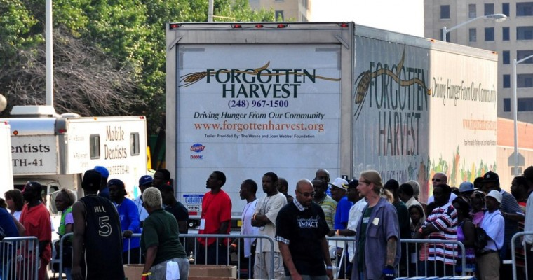 GM Foundation Lends a Hand to Forgotten Harvest