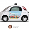Google's Self-Driving Cars Now Feature Google Doodles