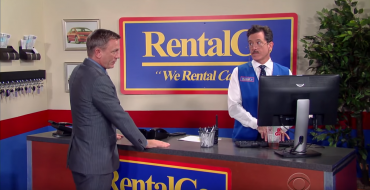 James Bond Rents Chevy Malibu From Stephen Colbert
