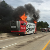 UPDATE: Nobody Hurt In Fire That Destroyed Two NASCAR Stock Cars