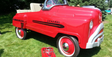 Retired Engineer Builds Adult-Sized Pedal Car