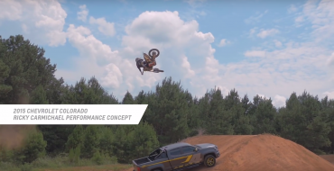 Ricky Carmichael Checks Out 2016 Colorado Special Edition Trucks