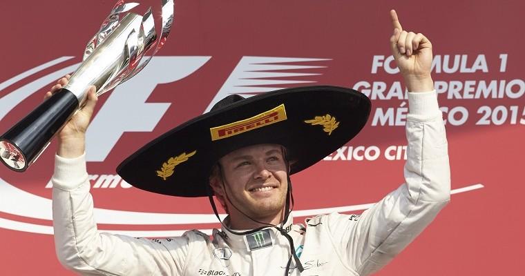 2015 Mexican Grand Prix Recap: Rosberg Finally Gets His Win