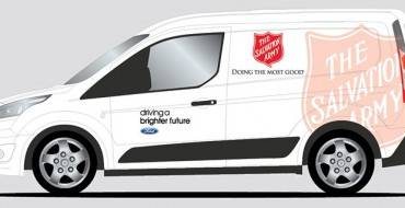 Ford Donating Five Transit Connect Cargo Vans to Hunger Relief Organizations