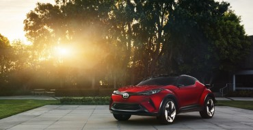 Toyota C-HR Crossover to Debut in Geneva