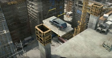 [VIDEO] Hyundai Santa Fe Shows How to Escape from a Construction Site Unharmed