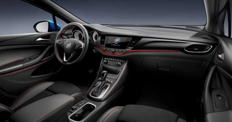 Get a Load of the Smooth Interior of China's Buick Verano GS