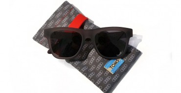 TOMS and Audi Offer Exclusive Sunglasses