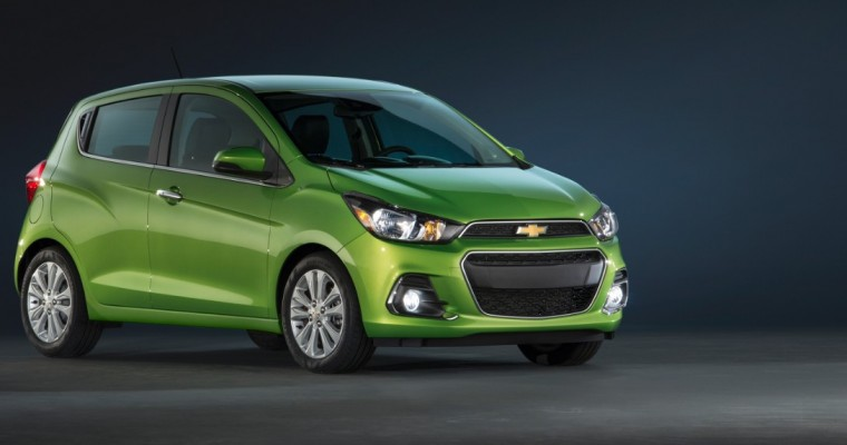 2016 Chevy Spark Goes on Sale Today