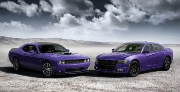 2016 SRT Hellcat Models Get New Strip Design, Exclusive Plum Crazy Color