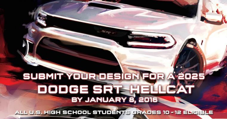 Dodge Challenges High School Students to Design 2025 SRT Hellcat