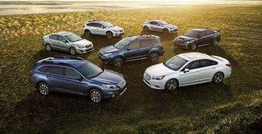 Subaru Earns Best Resale Value Brand; Forester, Legacy, and More Win in Segments