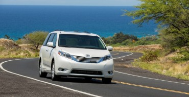 Toyota Sienna Minivan Named One of the Best Family Cars of 2016 by Parents Magazine