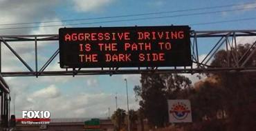 US Road Signs Catching <em>Star Wars</em> Hype