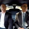 President Obama and Jerry Seinfeld Take Turns Driving a 1963 Corvette Stingray