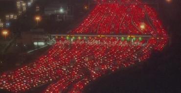 Bay Bridge Incident Causes Beautiful Traffic Nightmare