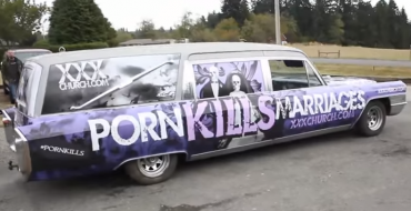 You Have a Shot to Own this 'Porn Kills Marriages' Cadillac Hearse Via Craigslist for the Right Money
