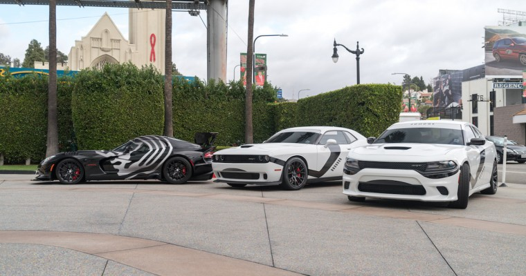"""Star Wars""-Inspired Dodge Models Patrol LA to Celebrate New Film in Series"