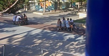 Driving Picnic Tables Terrorize Australia