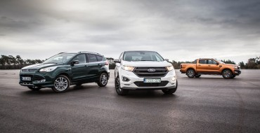 Ford Says it Will Sell 139K AWD/4WD Vehicles in Europe Next Year