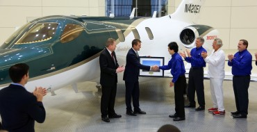 One Very Well-Behaved Guy Receives a HondaJet for Christmas