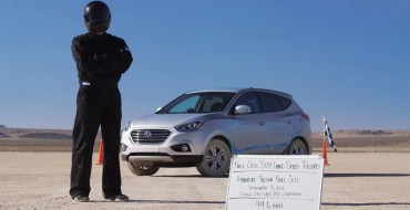 [VIDEO] Record-Setting, Hydrogen-Powered Hyundai SUV Speeds Through Desert