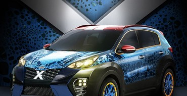 Second-Generation Kia X-Car Inspired by Mystique