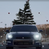 Nissan Takes Down Christmas Tree with GT-R