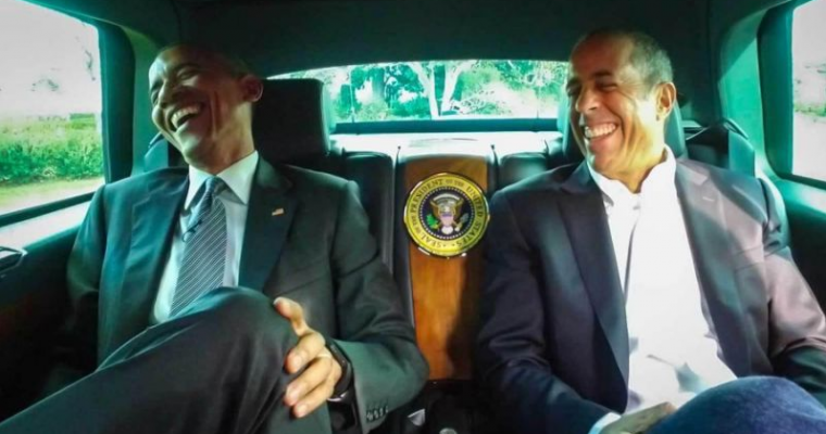 Obama to Make Appearance on Seinfeld's 'Comedians in Cars Getting Coffee'